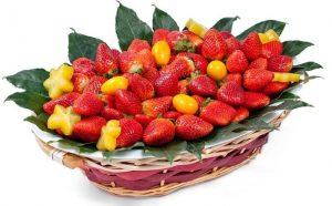 סלסלת תותים M