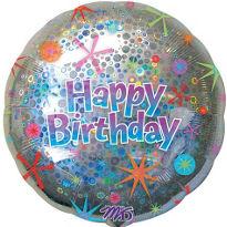 בלון יום הולדת שמח