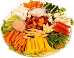 מגש ירקות ירוק באקדמיה