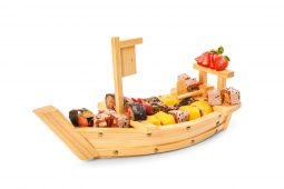 סירת סושי פירות