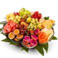 סלסלת פירות אובלית