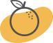 פירות פרימיום טריים, קלופים וחתוכים