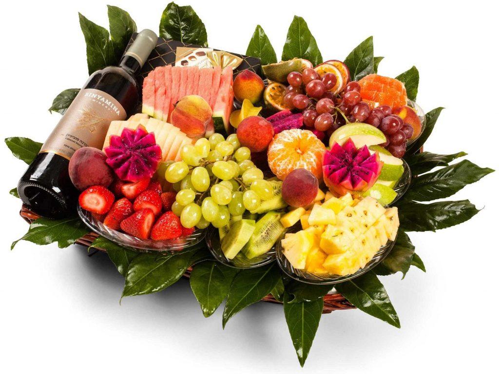 היתרונות של פירות במגש