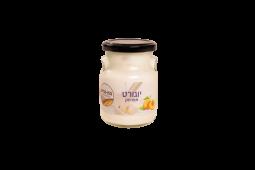 יוגורט אפרסק בצנצנת