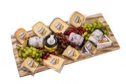 פלטת עץ גבינות בינונית